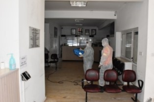 Girne Municipality Continues Urban Hygiene Works Continuously .. (1)