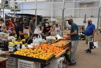 Girne Municipality Open Market precautions to safeguard citizens (2)