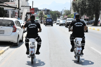 Girne Municipality cycle police patrols (1)