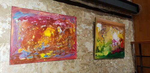 The Pandemic in Art exhibition opened in Girne (1)