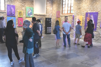 The Pandemic in Art exhibition opened in Girne (6)