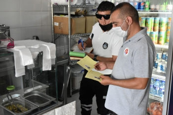 Food Inspections and Covid-19 Controls Continue in Girne Municipality (2)