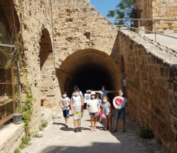 Girne Childersn Assemby visit to historical places (1)