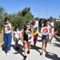 Girne Municipality Children's Council Visited the Animal Shelter (5)