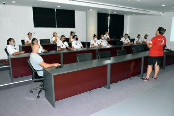 Girne Munıcıpalıty and Belpaz employees Blood Donatıon briefing (2)