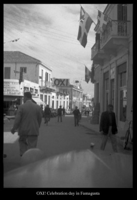 OXI celebration day in Famagusta