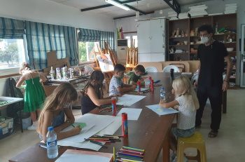 Girne Municipality Culture and Art Courses Started (2)
