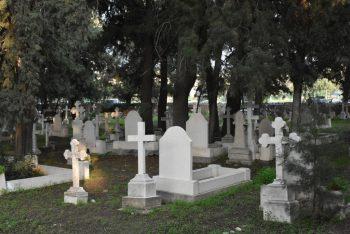 Girne Municipality Organized the British Cemetery (1)