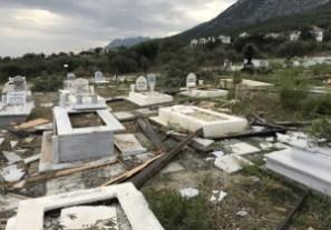Lapta Cemetery tornado