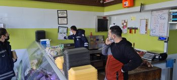 Girne Municipality Police Teams continue inspections for Covid 19 (1)
