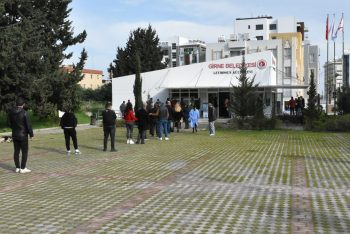 Girne Municipality vaccinate and give PCR tests to many people 5