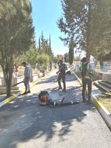 Karaoğlanoğlu cemetery cleaned (2)