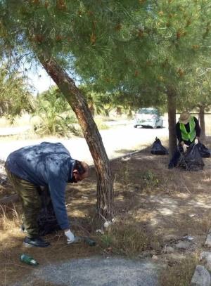 Lefkosa Republic Park cleaned (1)