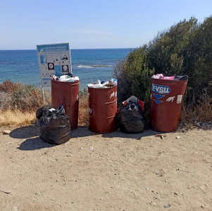 TRNC Ministry cleaning events in Alagadi and Karpaz regions (1)
