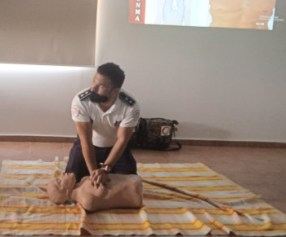 Girne Municipality had First Aid training from Girne Civil Defence (8)