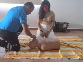 Girne Municipality had First Aid training from Girne Civil Defence (9)