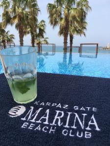 Karpaz gate marina beach club cocktails drinks relax