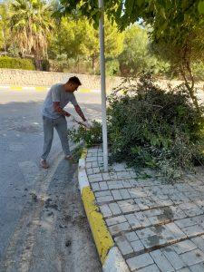Girne road cleaning (9)