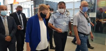 TRNC Minister inspection of Ercan airport srvices (5)