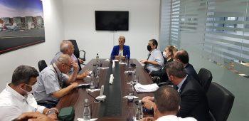 TRNC Minister inspection of Ercan airport srvices (9)