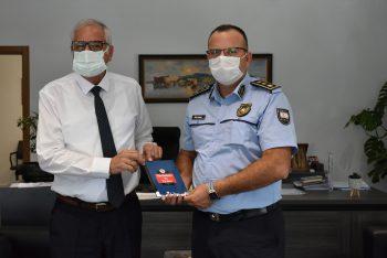 Girne Police Director Karagil Visited Mayor Güngördü (3)