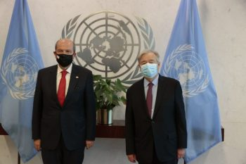President Ersin Tatar met with Antonio Guterres in New York (3)