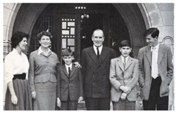 Sir Hugh Foot and his family