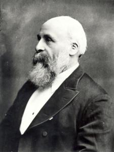 Richard Cadbury in his later years