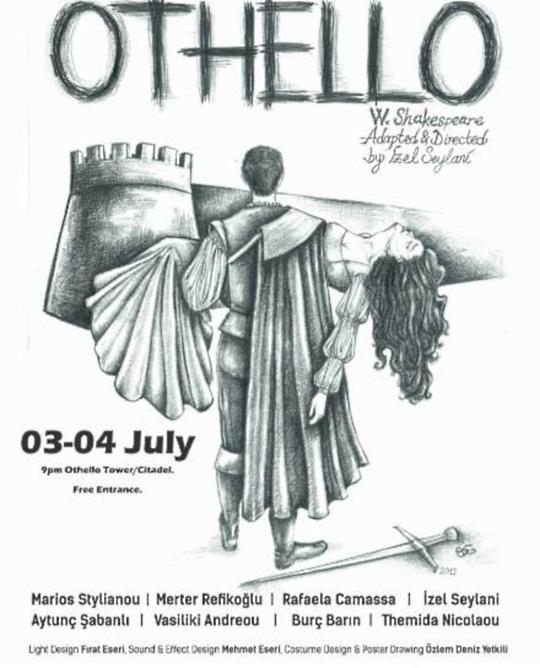 Shakespeare at the Othello Tower, Famagusta