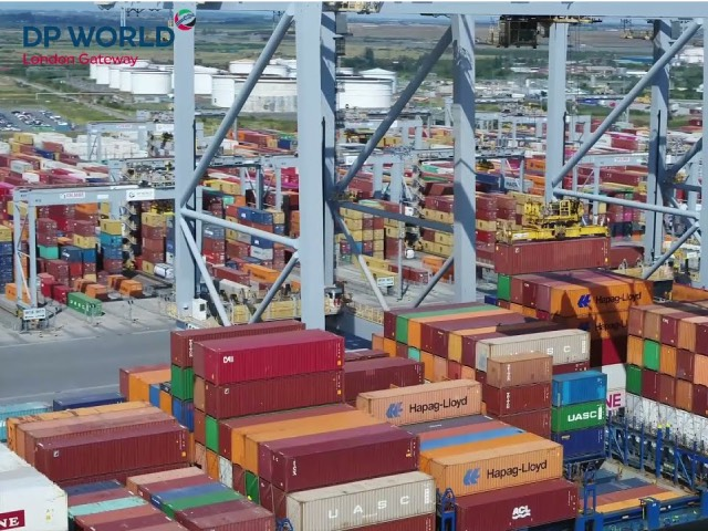 DP World to invest £300m in new fourth berth at London Gateway logistics hub to strengthen UK's supply chain | Cyprus Shipping News