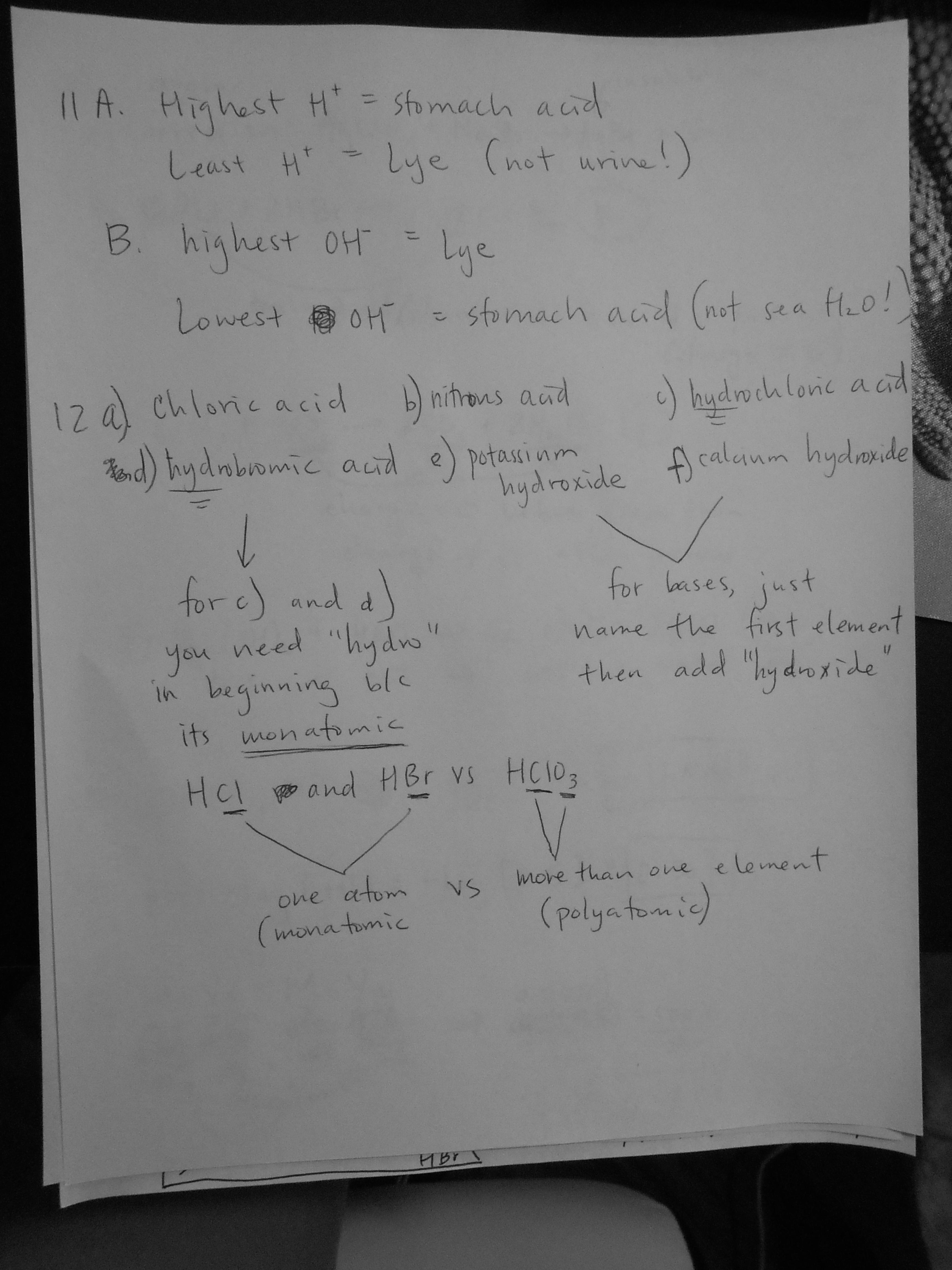 Dilutions Homework Answer Key