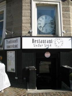 Smørrebrød restaurant... Unfortunately didn't have time to try it :(