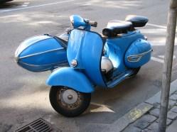 Sidecar on a Vespa?