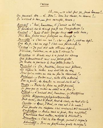Cyrano De Bergerac La Tirade Du Nez : cyrano, bergerac, tirade, Rostand, Raconte, Cyrano, Manuscrit, Tirade, CYRANO, BERGERAC, Toute, Information, Bergerac,, Personnage, Edmond