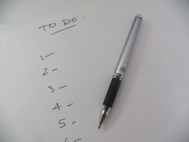 Office To Do List Reminder To-do List Pen Write