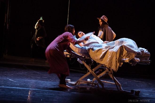 Tandis que j'agonise - Conservatoire Dijon - festival Eclosion