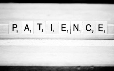 Patience. Vertu déchue sur l'autel de l'immédiateté