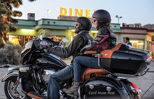 Breaking News Indian Motorcycle Unveils Its First 2015