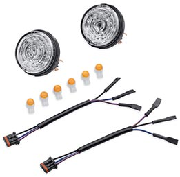 LED Bullet Turn Signal Insert Kit To Replace Harley