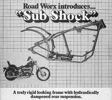 harley softail frame diagram ford fiesta mk7 audio wiring did you know the story of davidson at disappointed davis continued to improve his design and got idea switch swingarm pivoting point with shock under no more