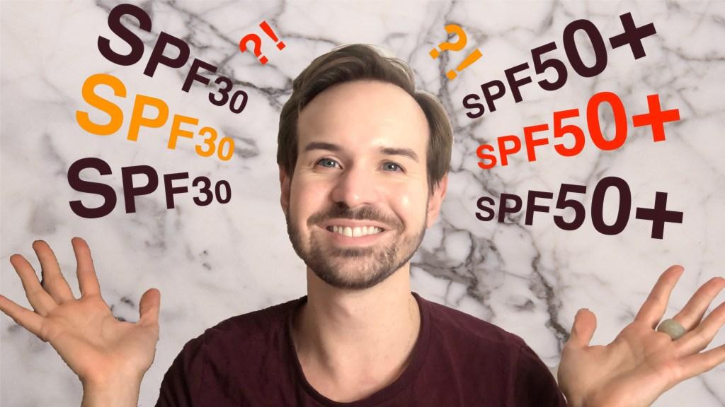 SPF30 versus SPF50+