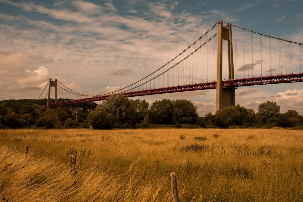 The bridge - Tancarville 2020