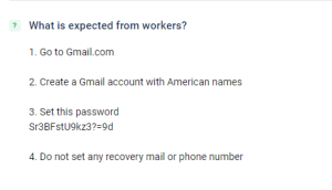 picoworkers job requirements