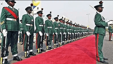 full list of commissioned officers in nigerian army