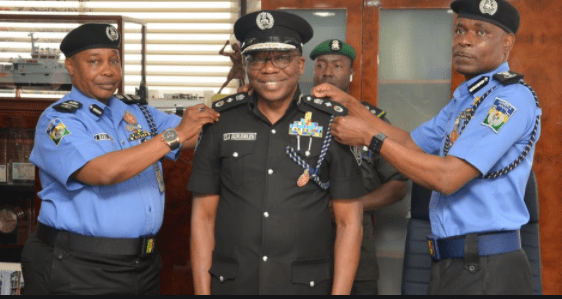 ranks in nigerian police