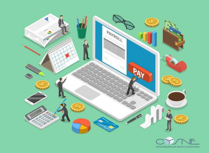 Folha De Pagamento Cysne - Cysne Administradora de bens e Condomínios