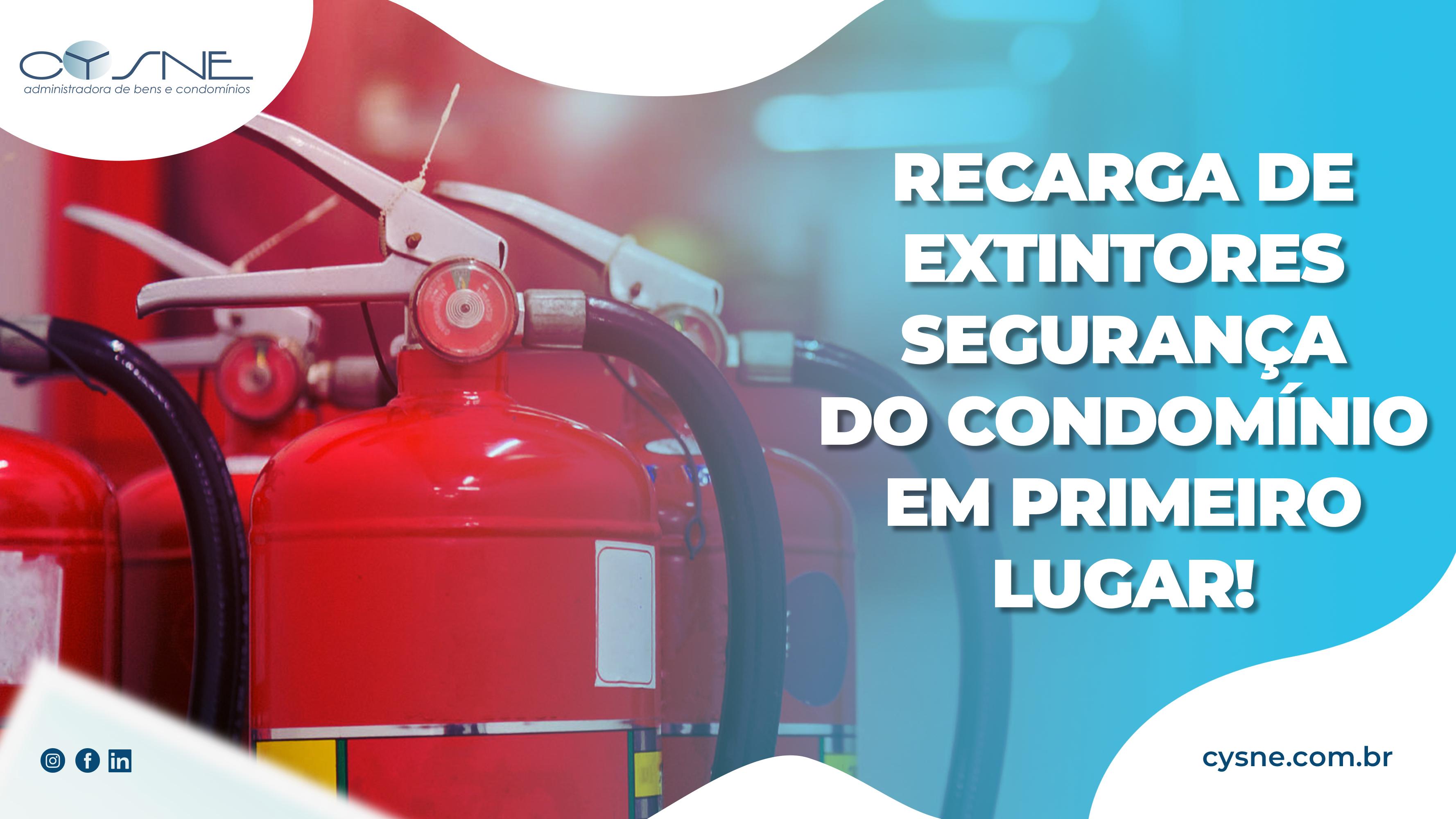 extintores em condomínios