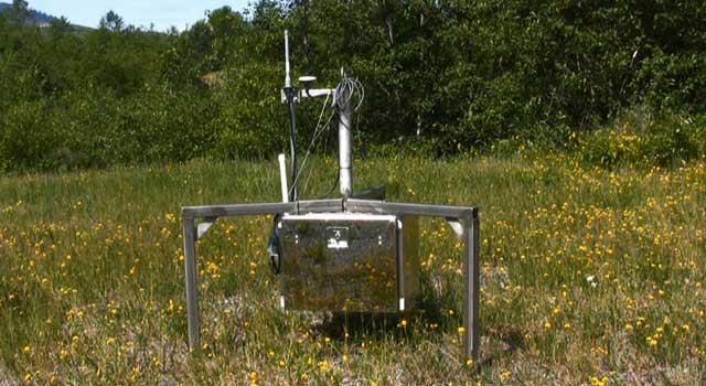 """""""Spider"""" para vigilar volcanes. JPL/NASA"""