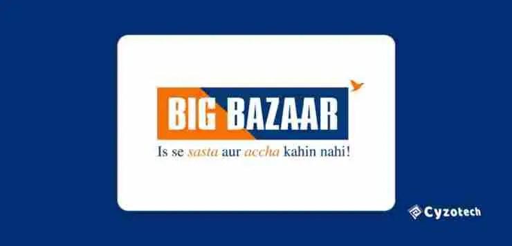 big bazaar franchise