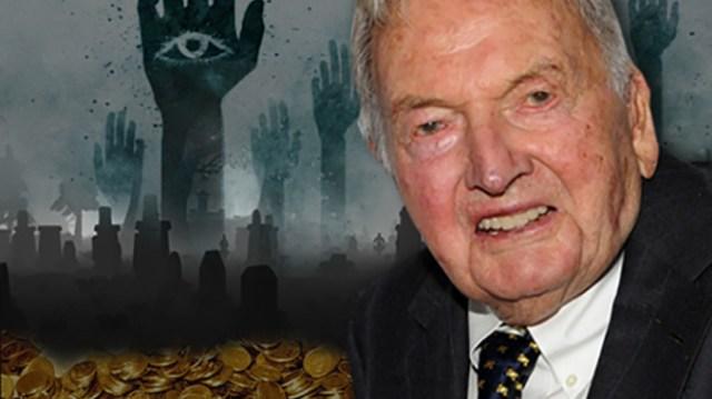 """""""Vše, co stále chybí, je velká globální krize, než národy přijmou """"nový světový řád,"""" …. D. Rockefeller na konferenci Bilderberg v roce 2005"""